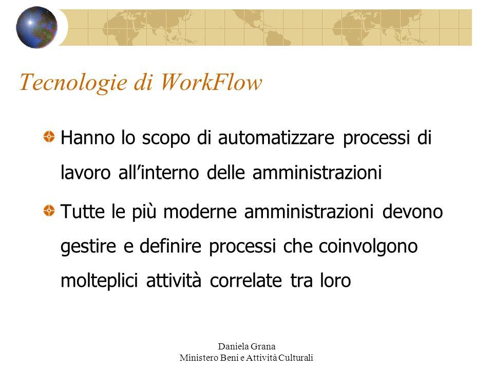 Tecnologie di WorkFlow