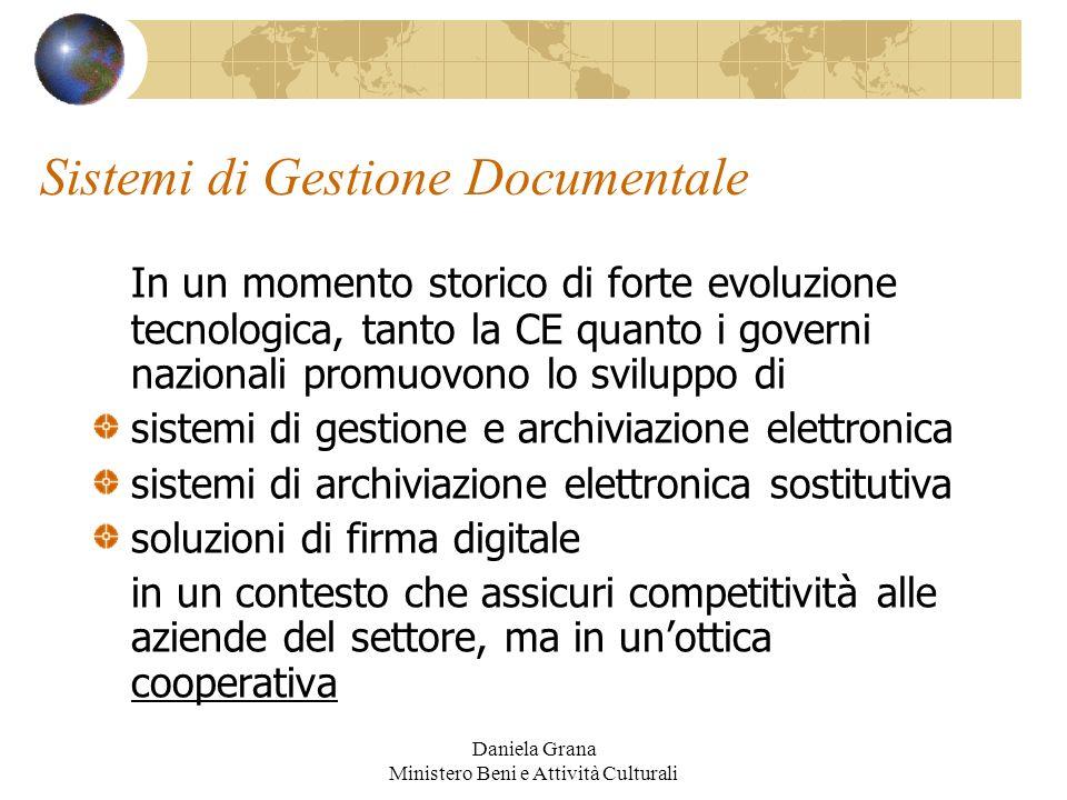 Sistemi di Gestione Documentale
