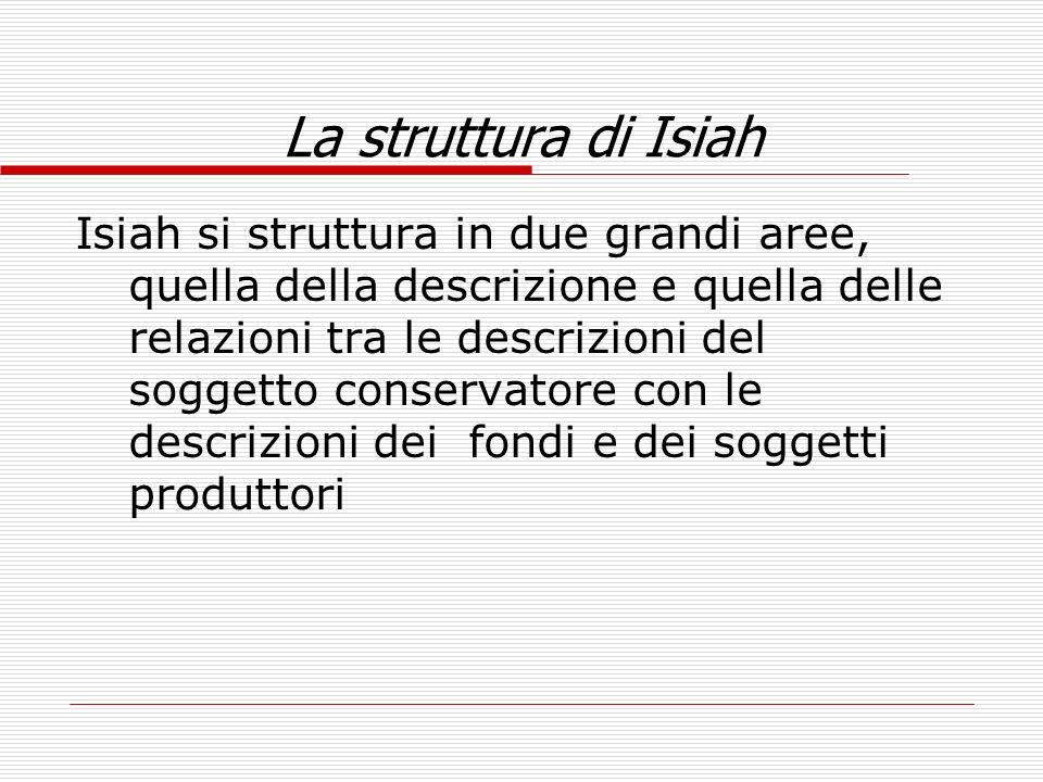 La struttura di Isiah