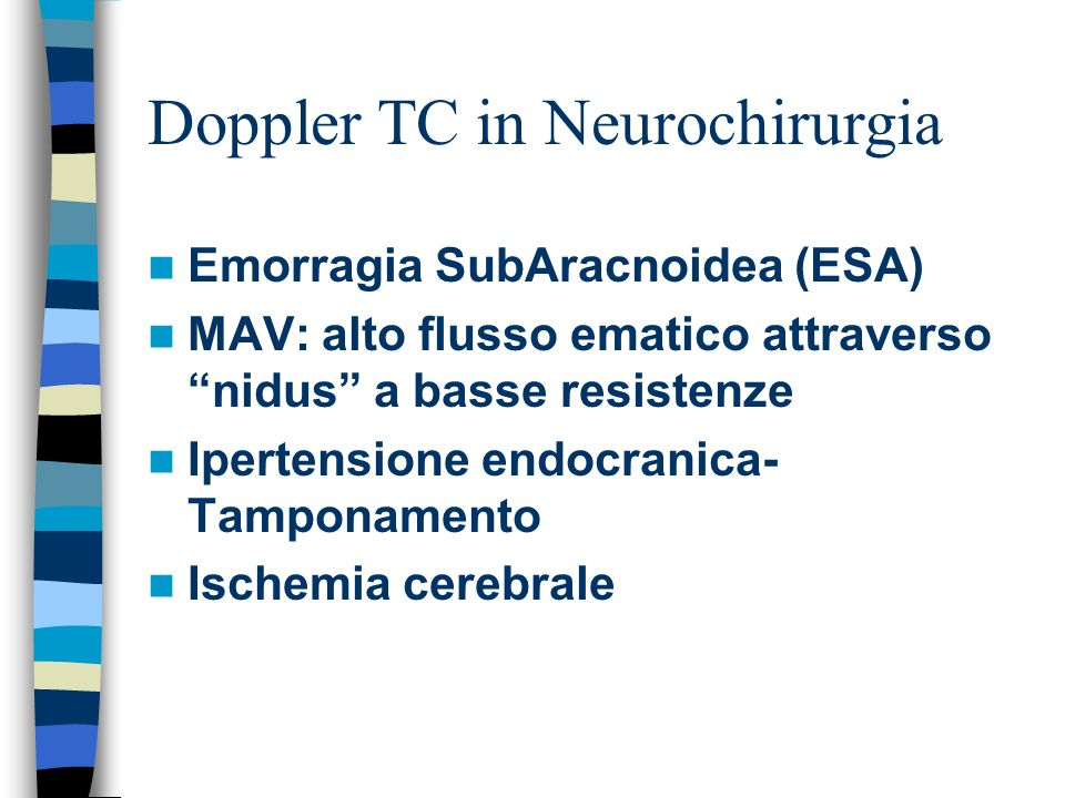 Doppler TC in Neurochirurgia