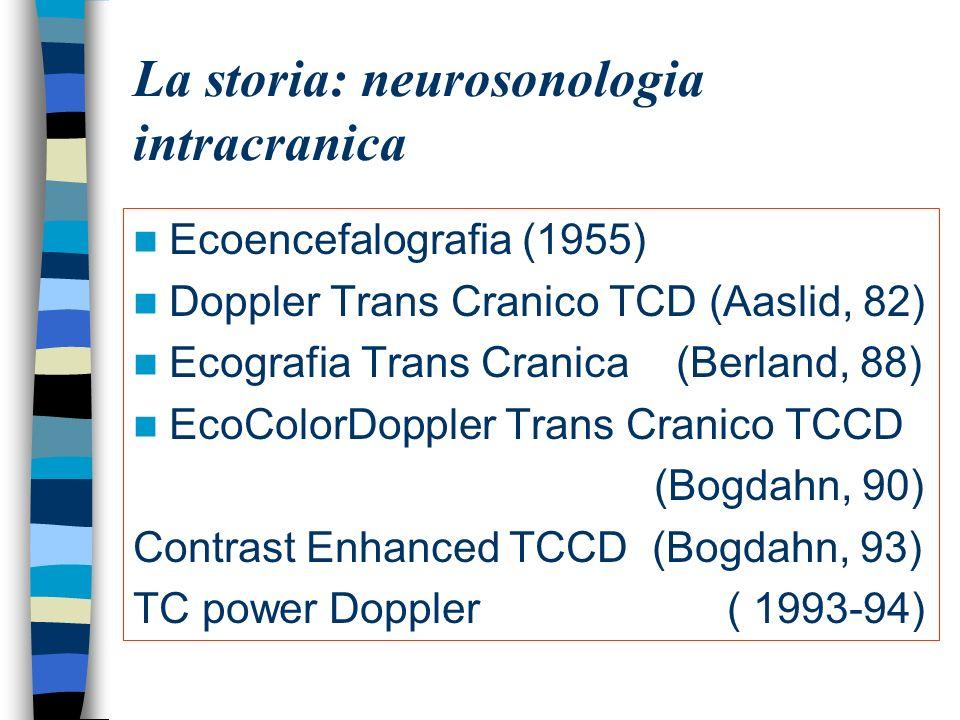 La storia: neurosonologia intracranica