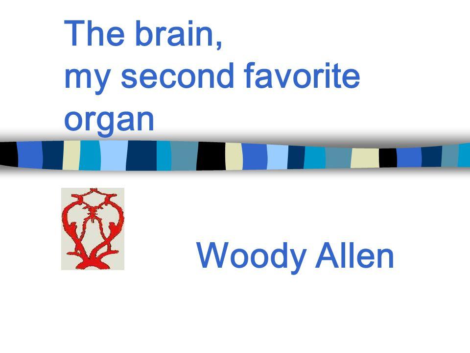 The brain, my second favorite organ