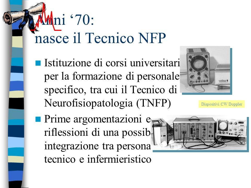 Anni '70: nasce il Tecnico NFP