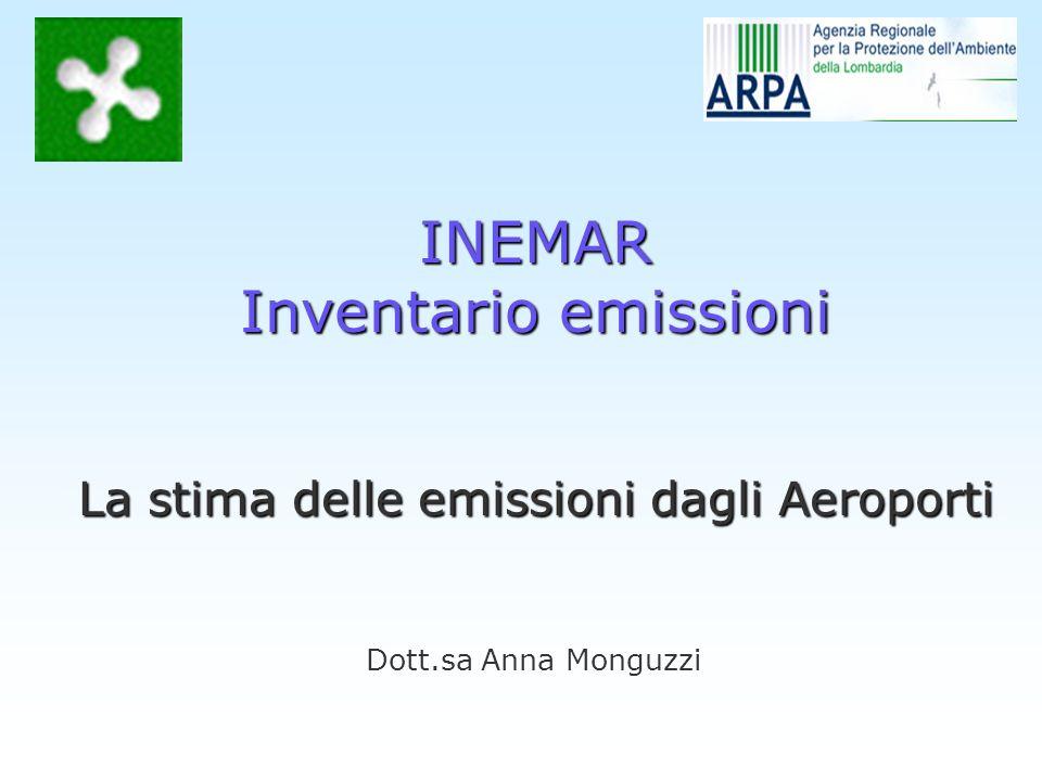 La stima delle emissioni dagli Aeroporti