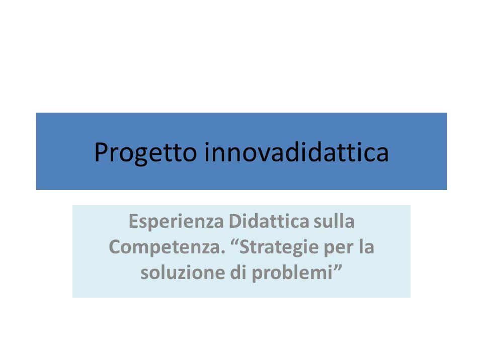 Progetto innovadidattica