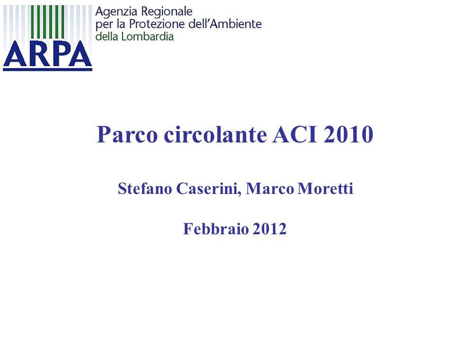 Stefano Caserini, Marco Moretti