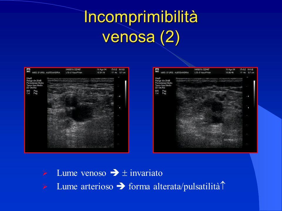 Incomprimibilità venosa (2)