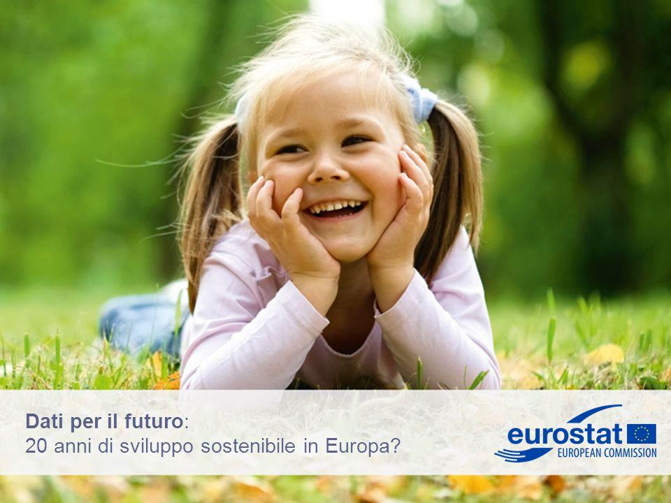 Dati per il futuro: 20 anni di sviluppo sostenibile in Europa