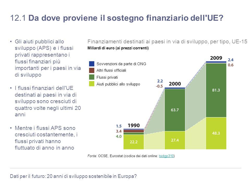 12.1 Da dove proviene il sostegno finanziario dell UE