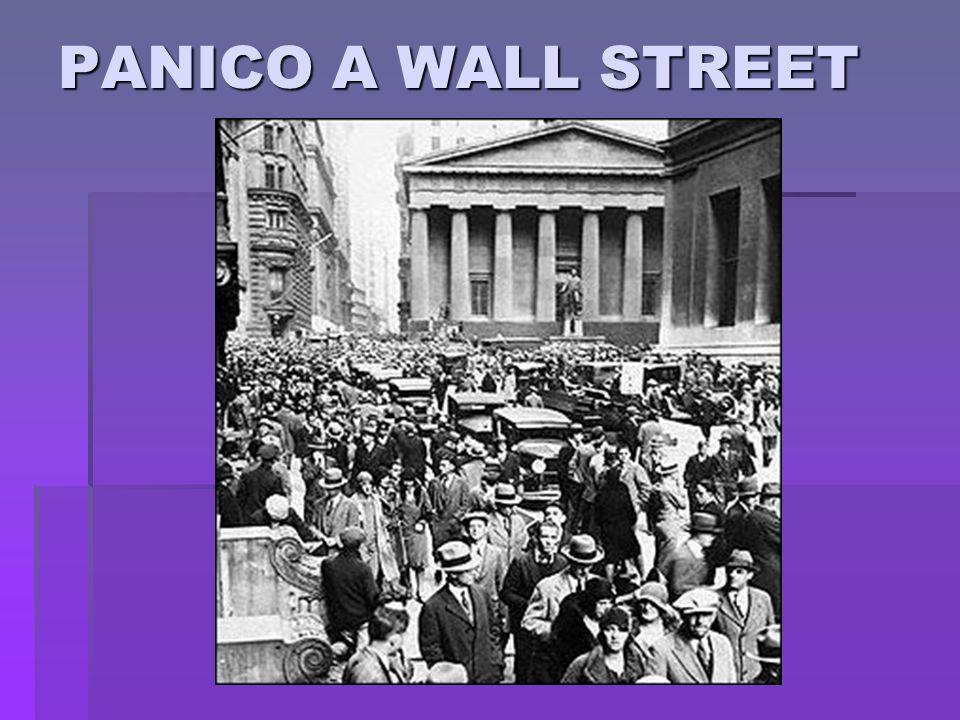 PANICO A WALL STREET
