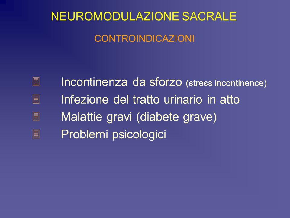 Incontinenza da sforzo (stress incontinence)