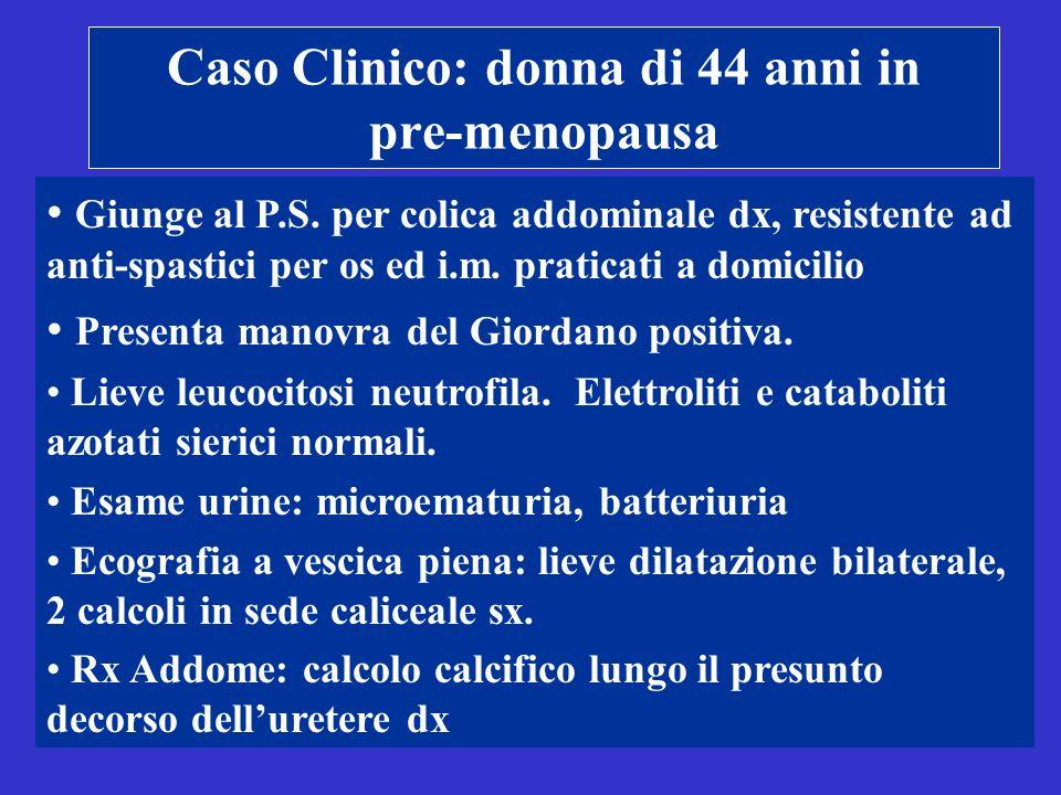 Caso Clinico: donna di 44 anni in pre-menopausa