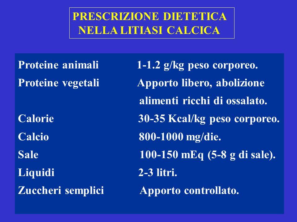 PRESCRIZIONE DIETETICA
