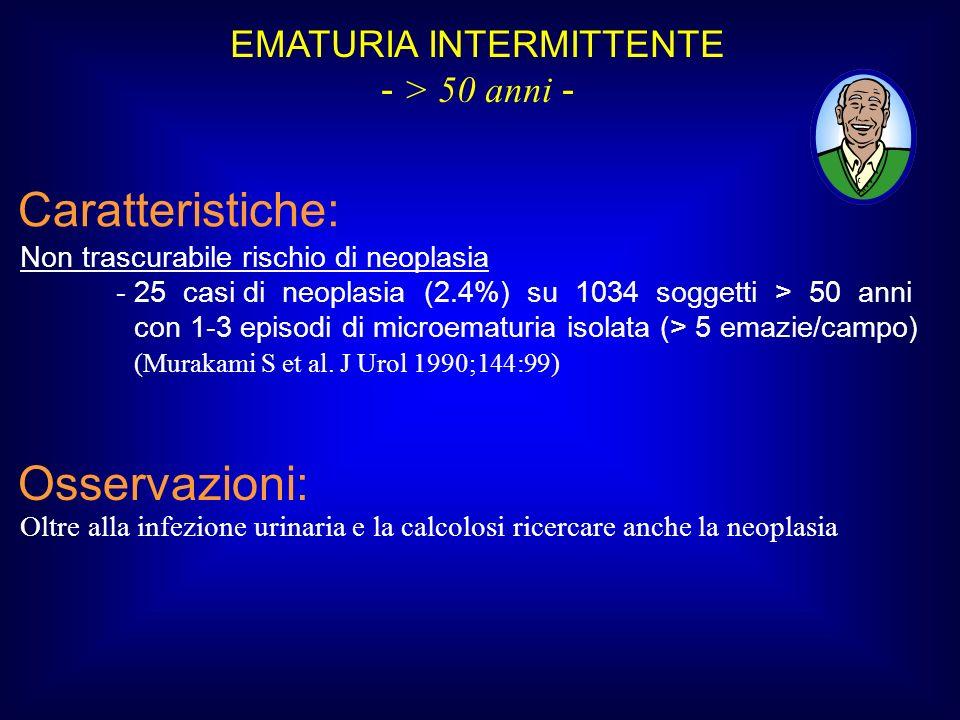 EMATURIA INTERMITTENTE