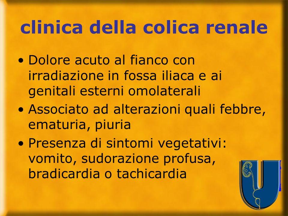 clinica della colica renale