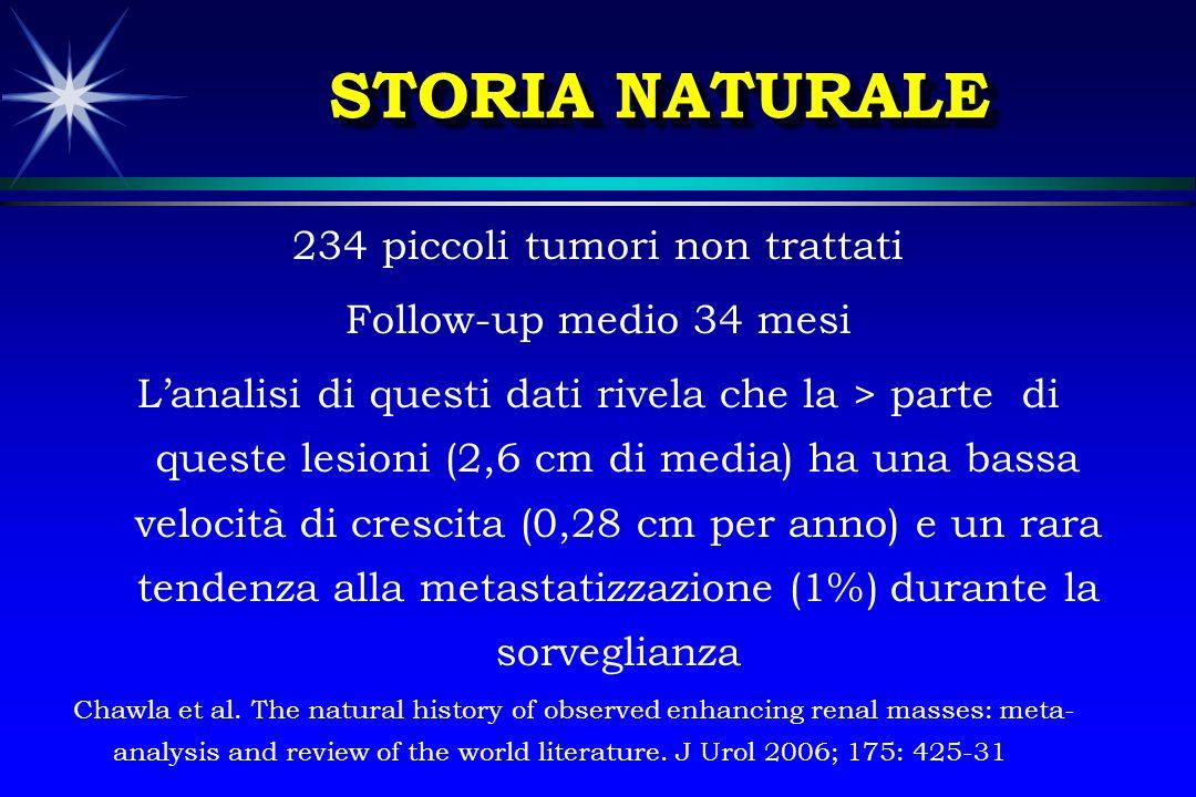234 piccoli tumori non trattati