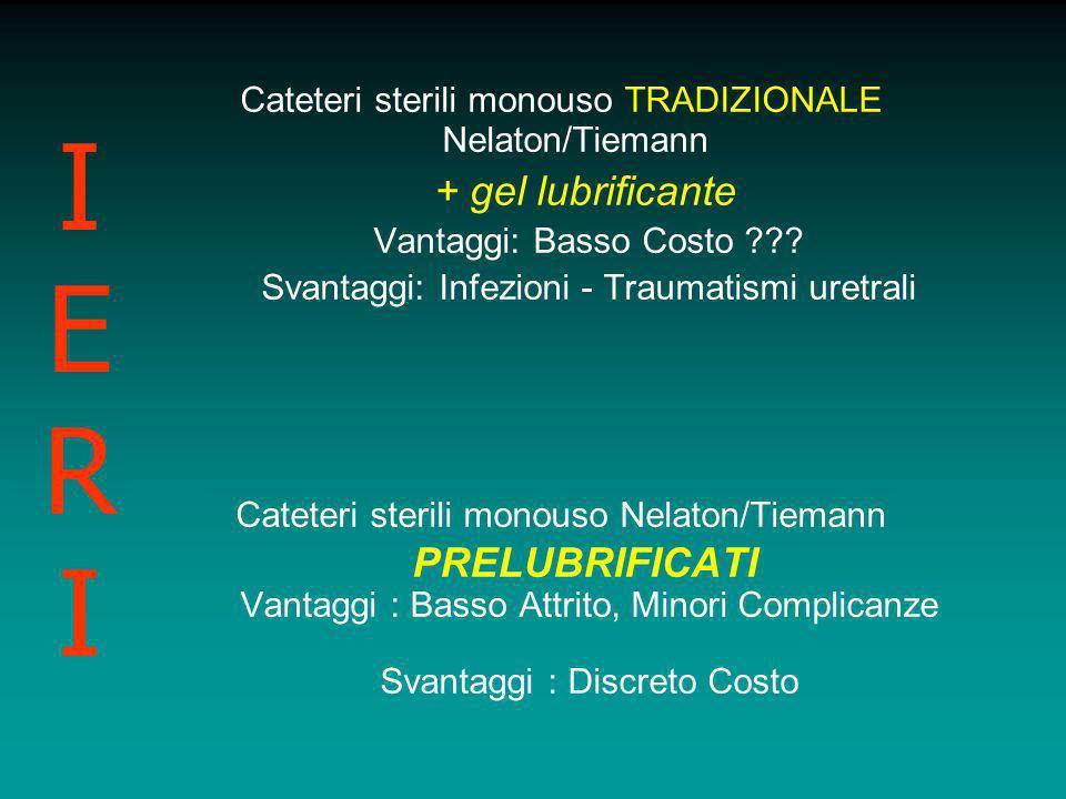 IERI Cateteri sterili monouso TRADIZIONALE Nelaton/Tiemann