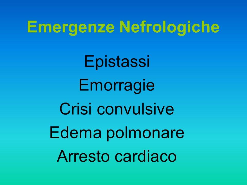 Emergenze Nefrologiche