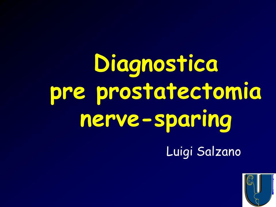 Diagnostica pre prostatectomia nerve-sparing