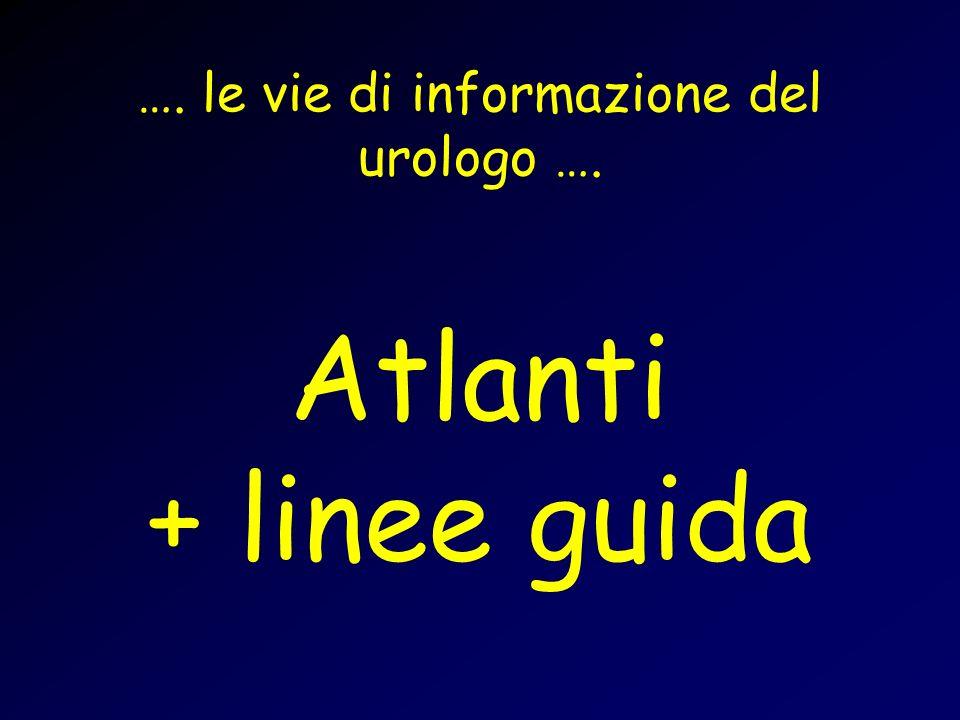 …. le vie di informazione del urologo ….