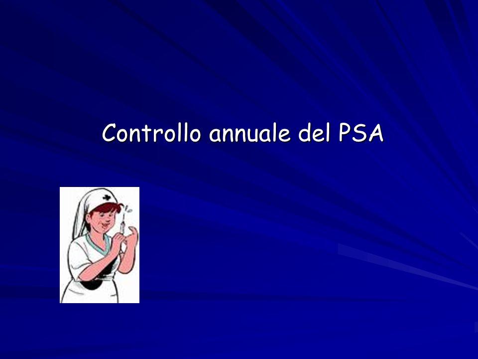 Controllo annuale del PSA