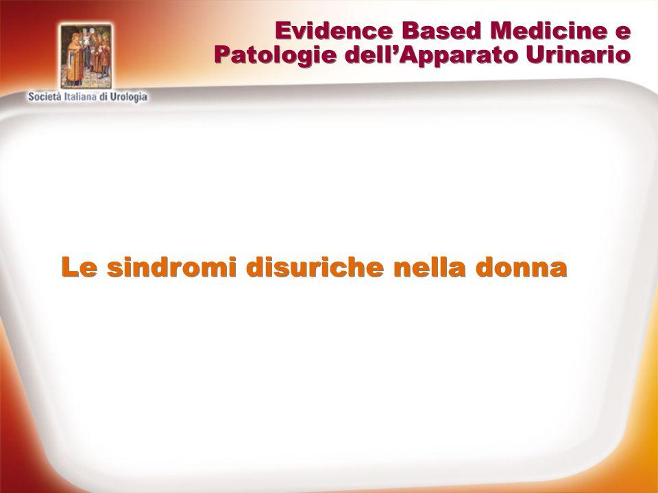 Evidence Based Medicine e Patologie dell'Apparato Urinario
