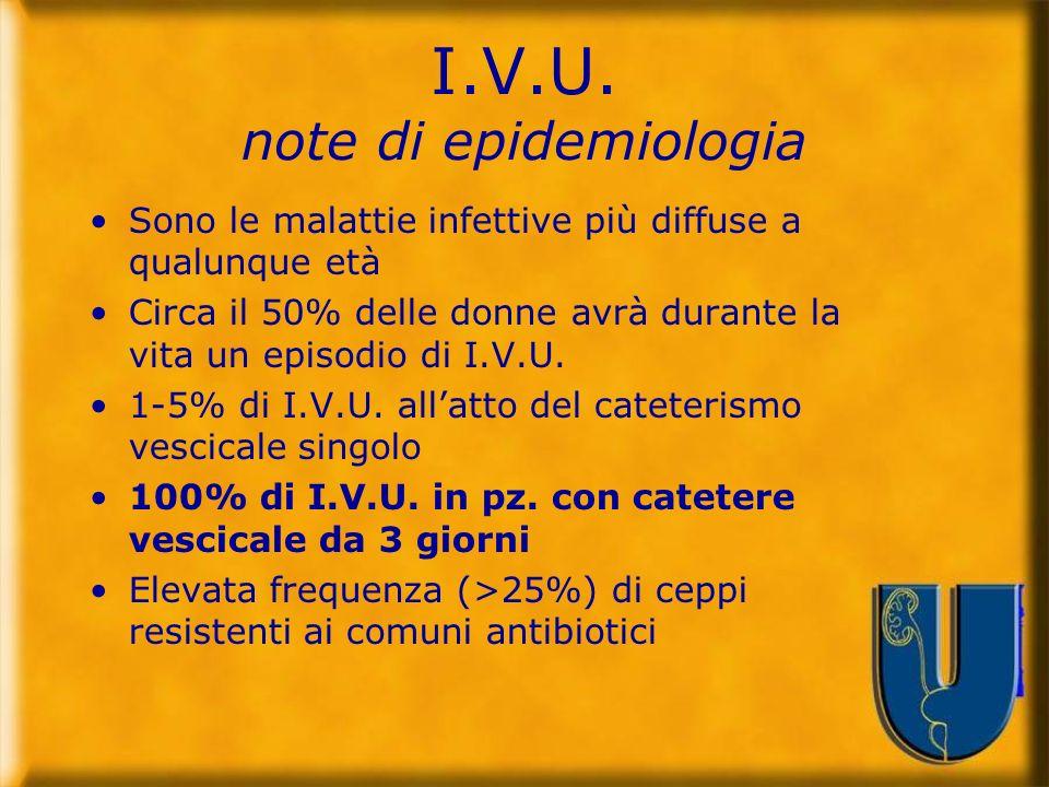 I.V.U. note di epidemiologia