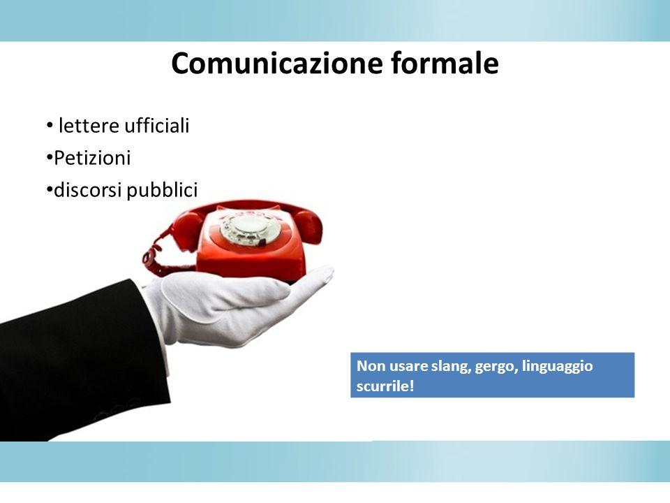 Comunicazione formale