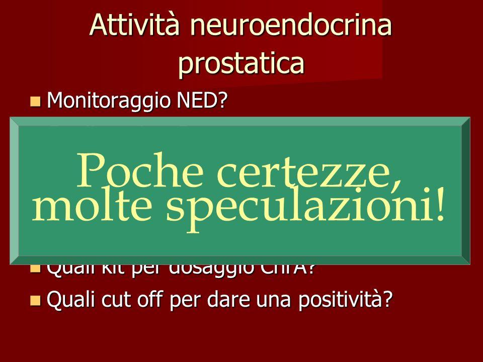 Attività neuroendocrina prostatica