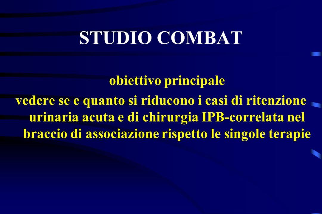 STUDIO COMBAT obiettivo principale