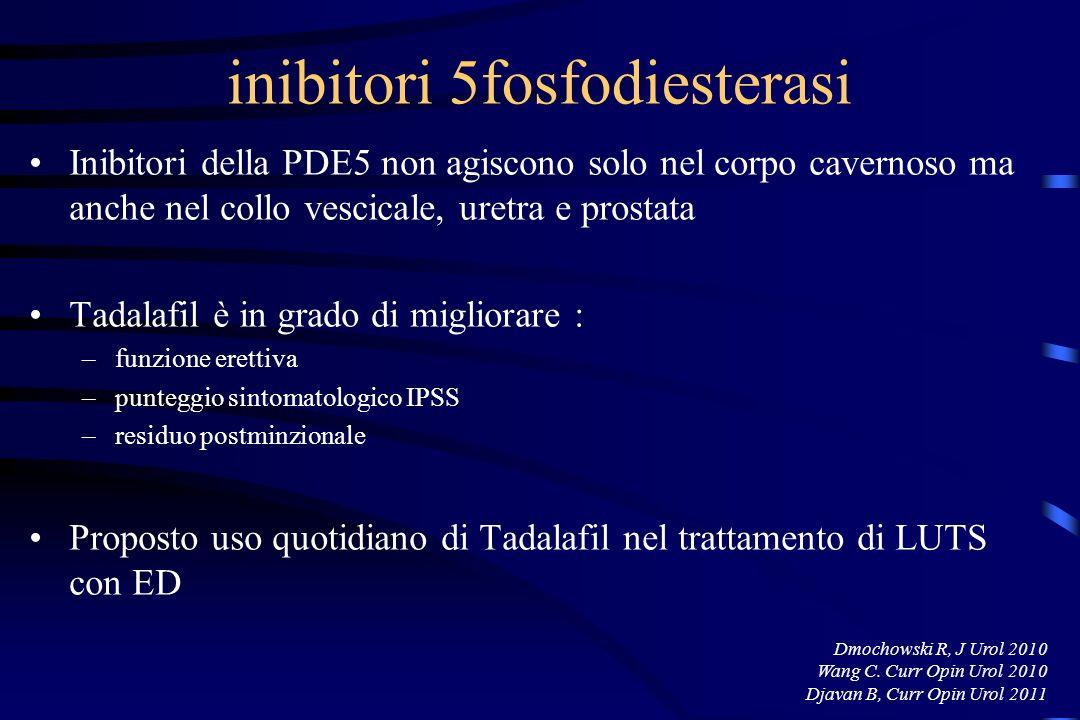 inibitori 5fosfodiesterasi