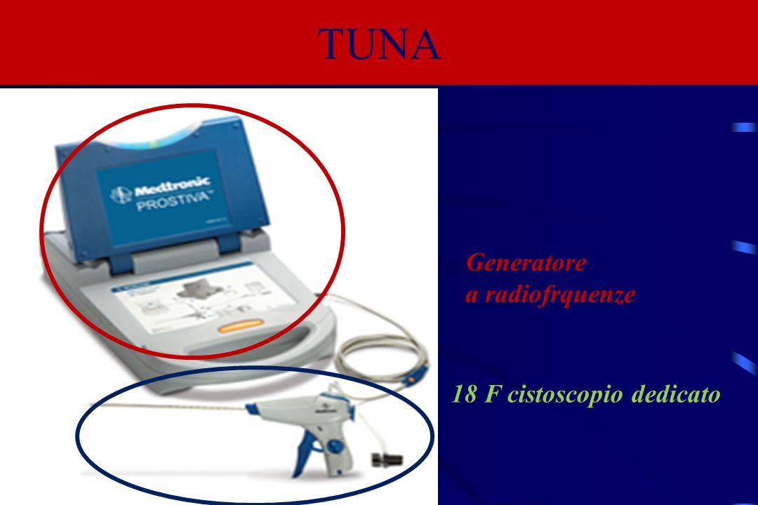 TUNA Generatore a radiofrquenze 18 F cistoscopio dedicato