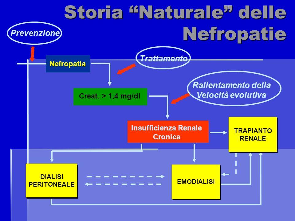Storia Naturale delle Nefropatie