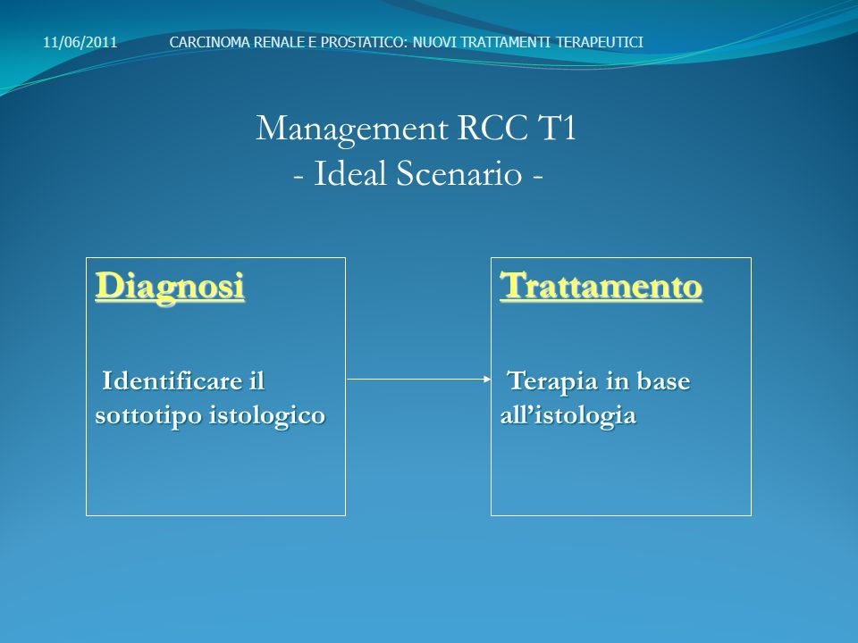 Management RCC T1 - Ideal Scenario -
