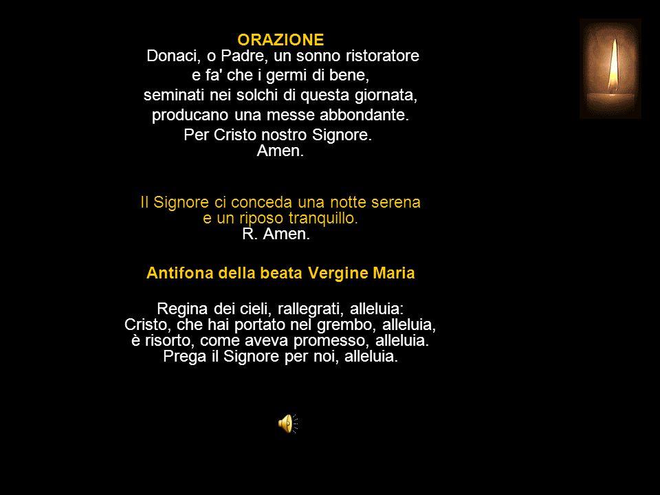 Antifona della beata Vergine Maria