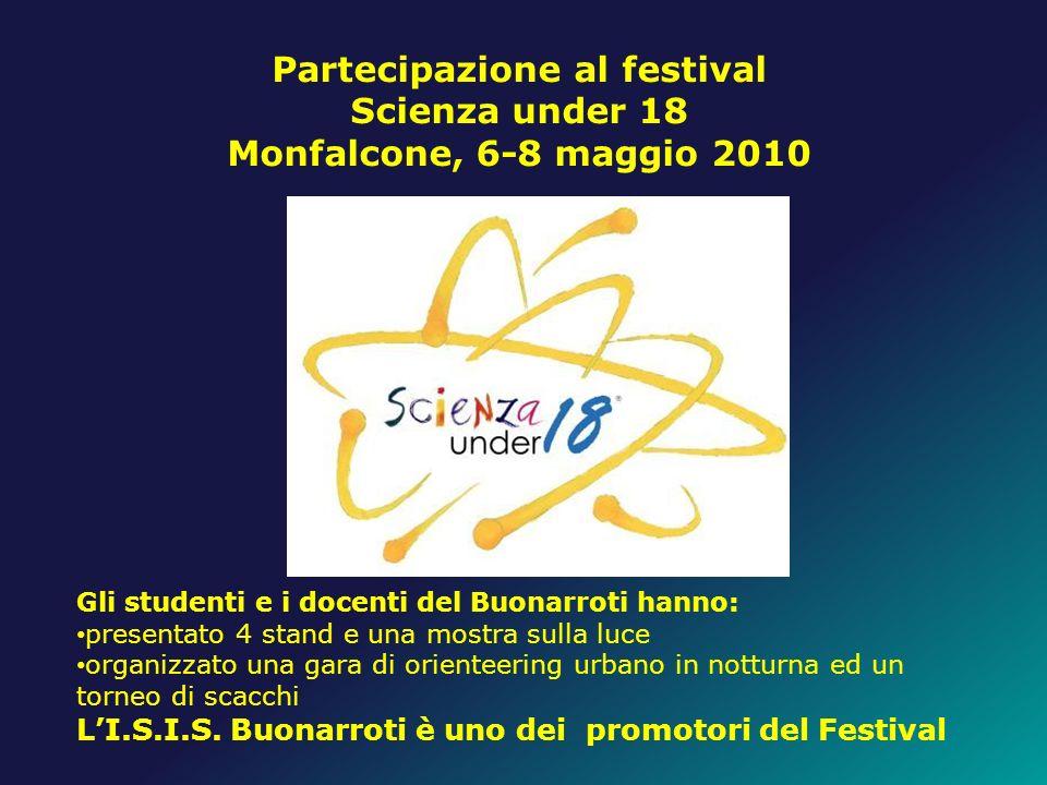 Partecipazione al festival