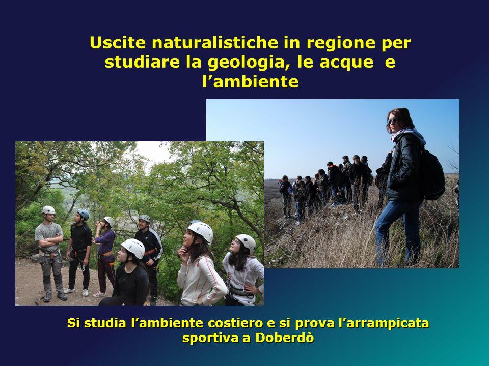 Uscite naturalistiche in regione per studiare la geologia, le acque e l'ambiente
