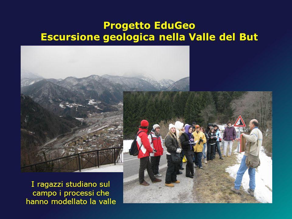 Escursione geologica nella Valle del But