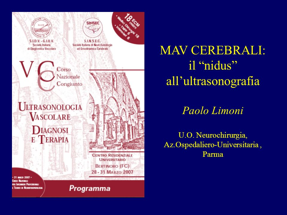il nidus all'ultrasonografia