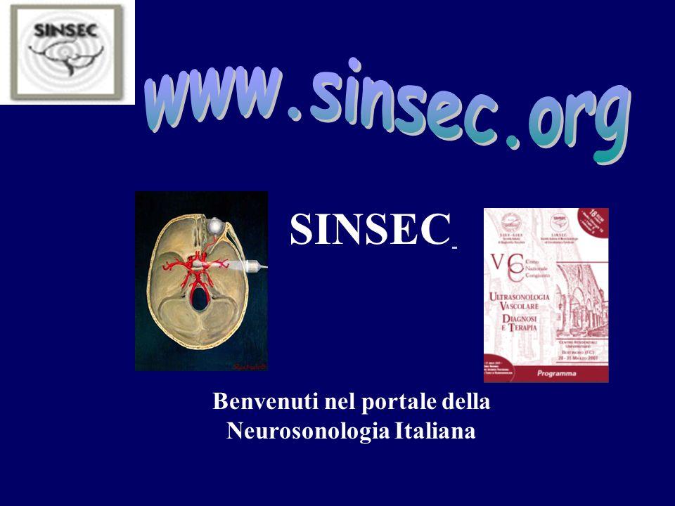 Benvenuti nel portale della Neurosonologia Italiana