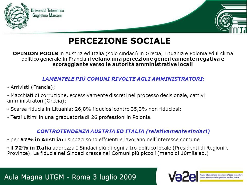 PERCEZIONE SOCIALE