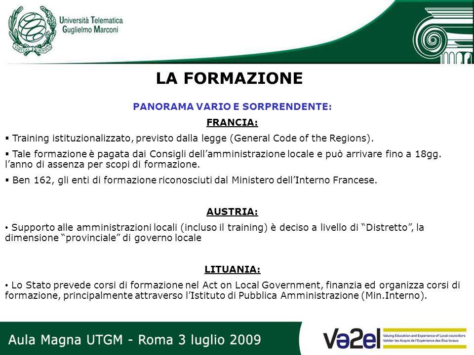 PANORAMA VARIO E SORPRENDENTE: