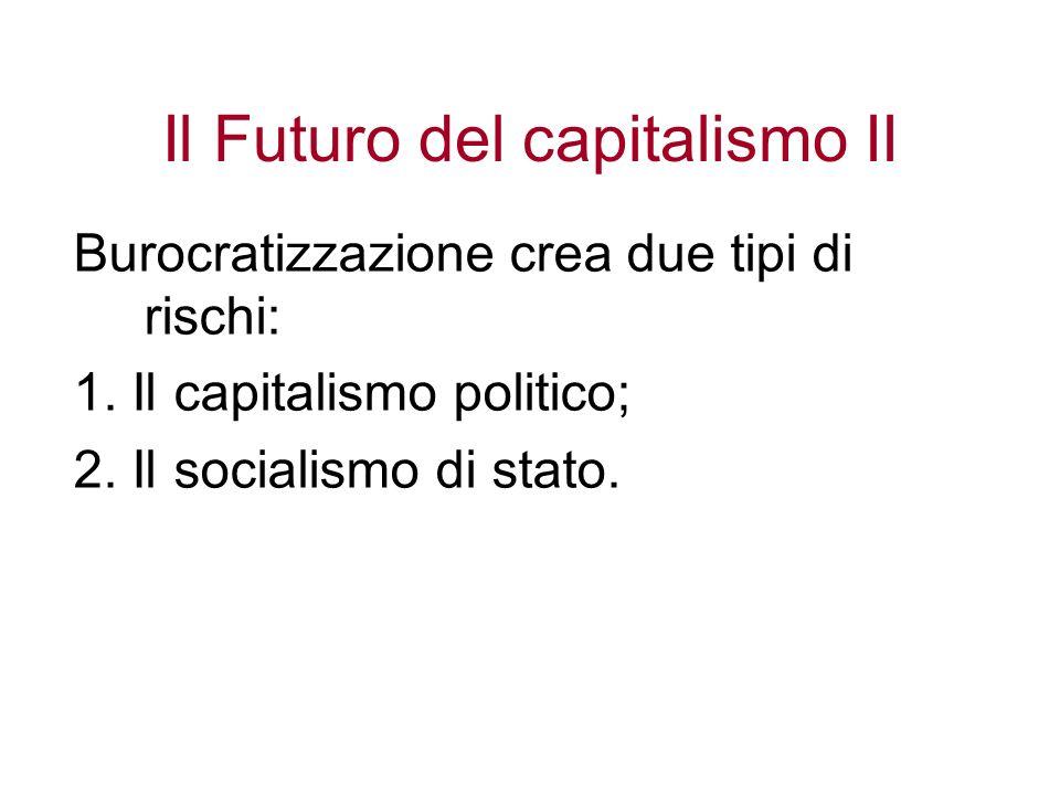 Il Futuro del capitalismo II