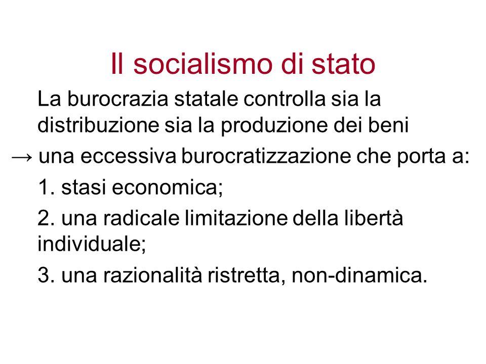 Il socialismo di stato