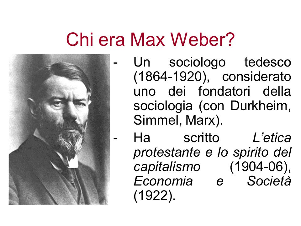 Compare And Contrast: Marx's And Weber's Theories