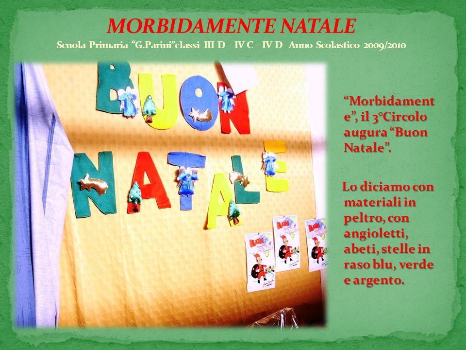 MORBIDAMENTE NATALE Scuola Primaria G
