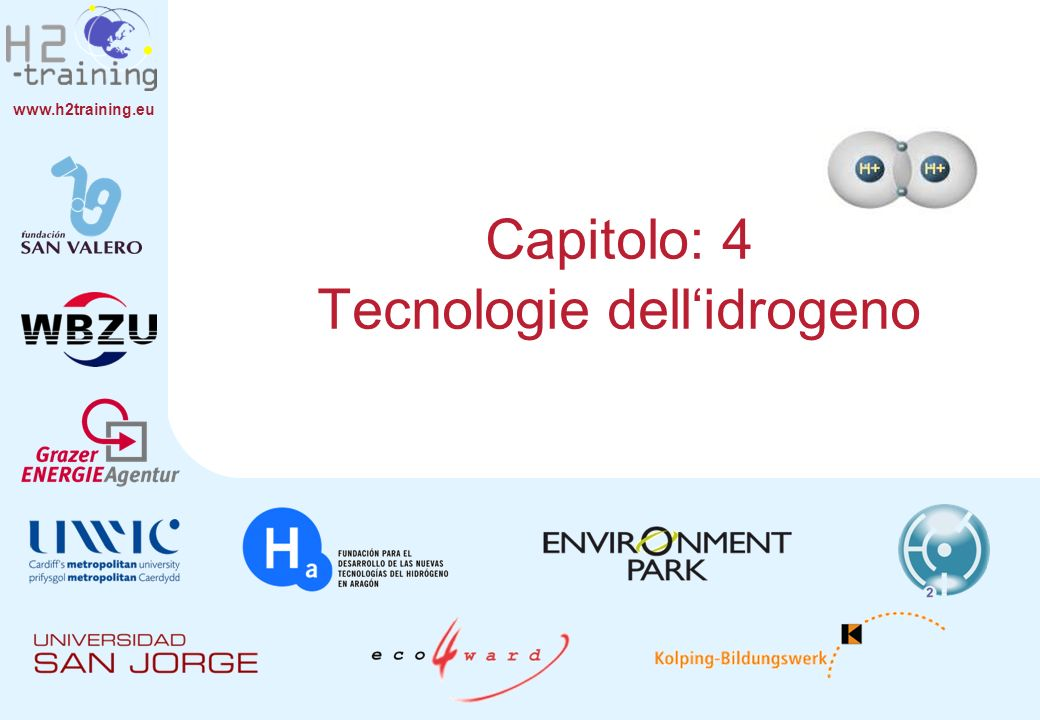 Capitolo: 4 Tecnologie dell'idrogeno