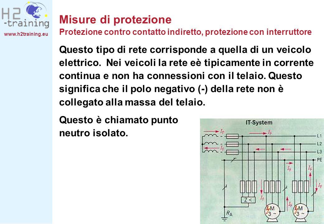 Misure di protezione Protezione contro contatto indiretto, protezione con interruttore
