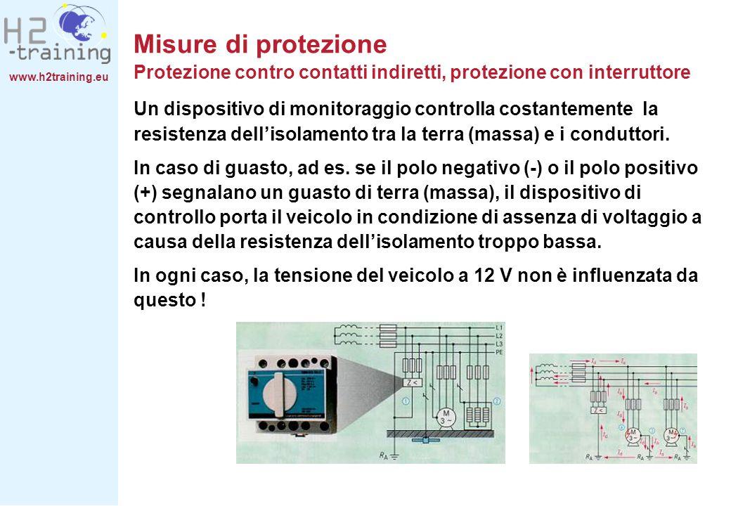 Misure di protezione Protezione contro contatti indiretti, protezione con interruttore