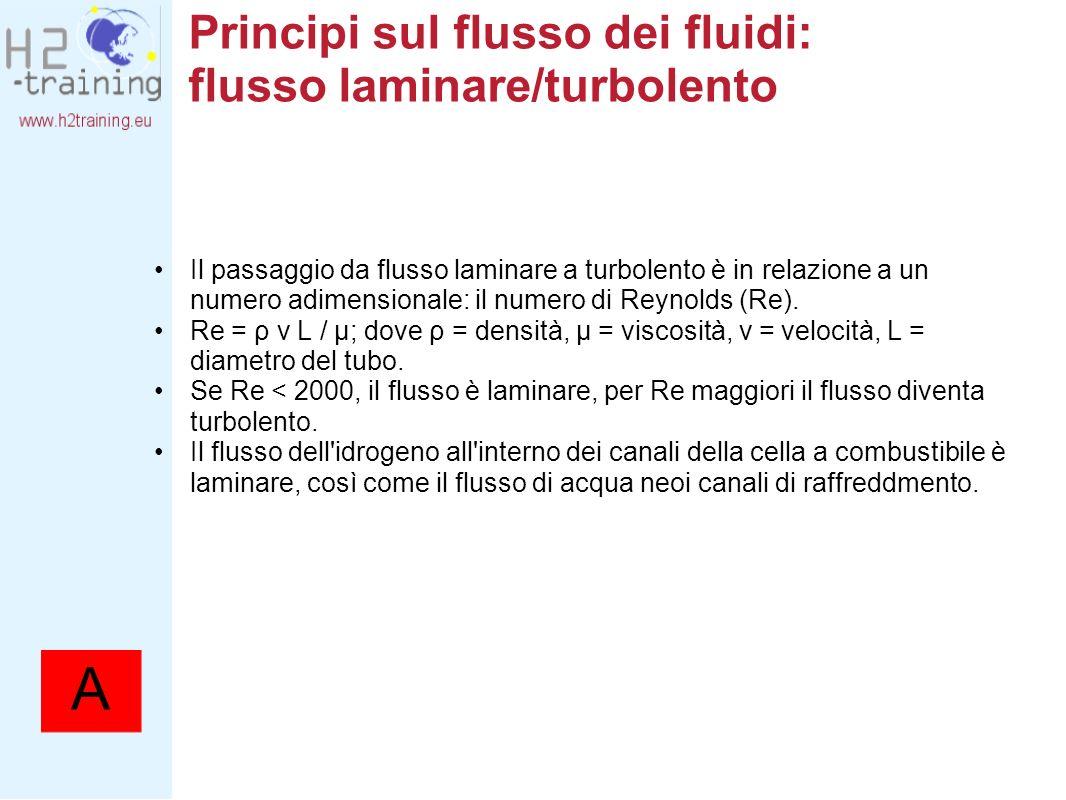 Principi sul flusso dei fluidi: flusso laminare/turbolento